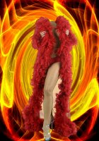 Шаблон фотошоп для девушки в красном