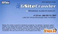Sitemap.xml с помощью GSiteCrawler 1.23