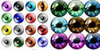 Шаблон фотошоп для глаз