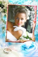 Свадебная рамка 4