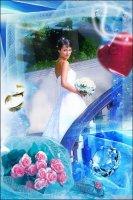 Свадебная рамка 6