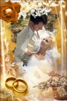 Свадебная рамка 7