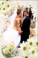 Свадебная рамка 8