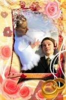 Свадебная рамка 10