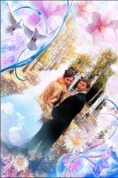 Свадебная рамка 11
