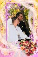 Свадебная рамка 12