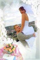 Свадебная рамка 15