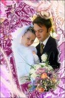 Свадебная рамка 16