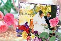 Свадебная рамка 19