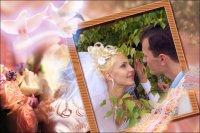 Свадебная рамка 23