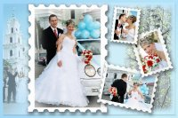 Свадебная рамка 26