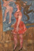 Цирковая танцовщица