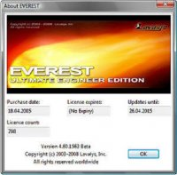 EVEREST Ultimate Edition 4.60.1563 Beta