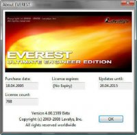 EVEREST Ultimate Edition v4.60.1599 Beta MultiLang(Rus) +