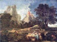 Никола Пуссен (1594—1665) Пейзаж с Полифемом. Государственный Эрмитаж.
