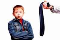 Воспитание ребёнка наказанием