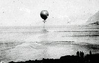 Воздушный шар «Орёл» летит на полюс