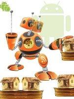 Зарабатывают роботы