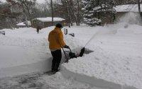 Применение снегоуборщика